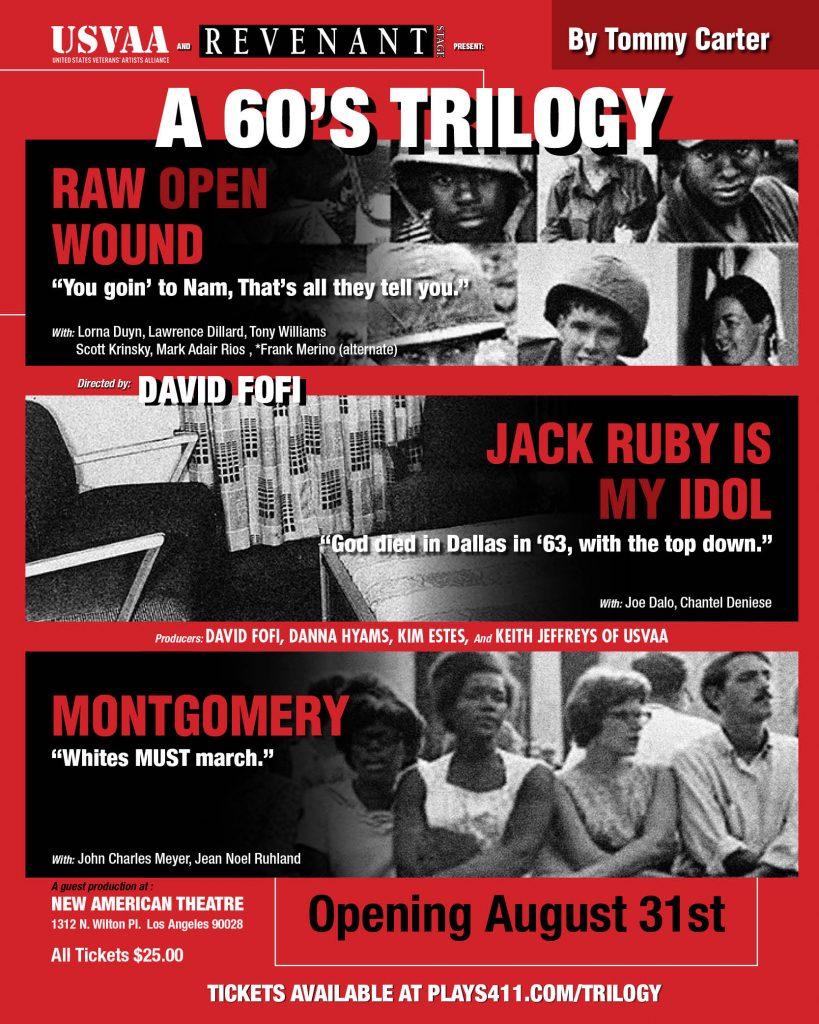A 60s Trilogy Flyer