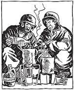 Willie and Joe, the classic WWII Era comic strip by Bill Maudlin