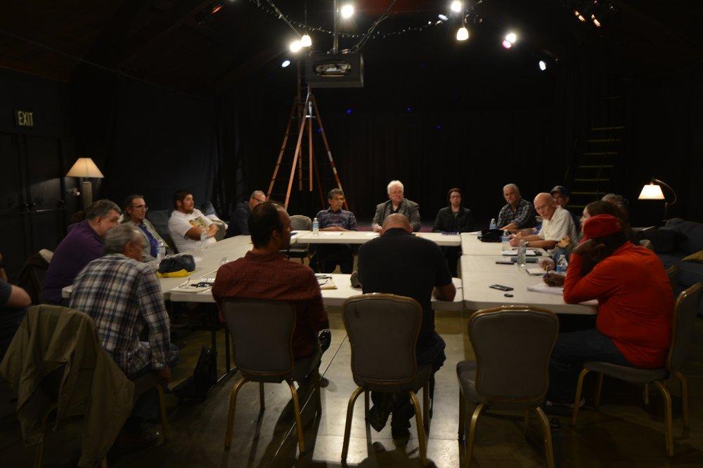 A veteran's writing workshop