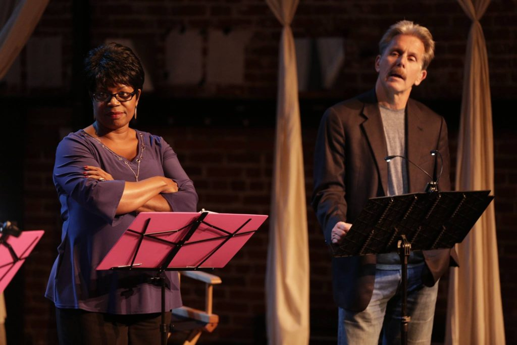 Monique Edwards with Gary Cole reading SERVED by Missy Lee