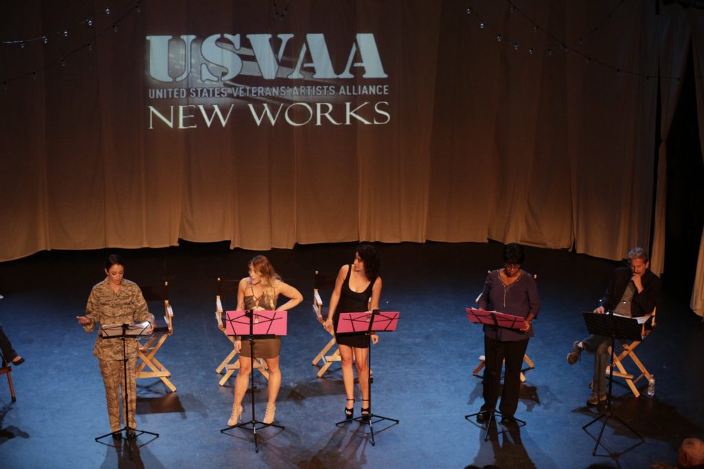 SERVED by Missy Lee, read and performed on stage by Monique Edwards, Alyssa Roehrenbeck, Ashley Keene, Deborah Smith and Gary Cole