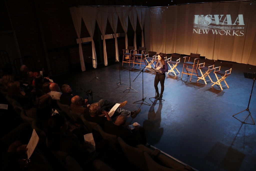 This War Can't Be All Bad written by Sylvia Ankenman Bowersox, read by Stephanie Maura Sanchez at the USVAA New Works Presentation