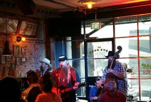 USVAA Colleague Gethen Jenkins at the Love Song Bar LA
