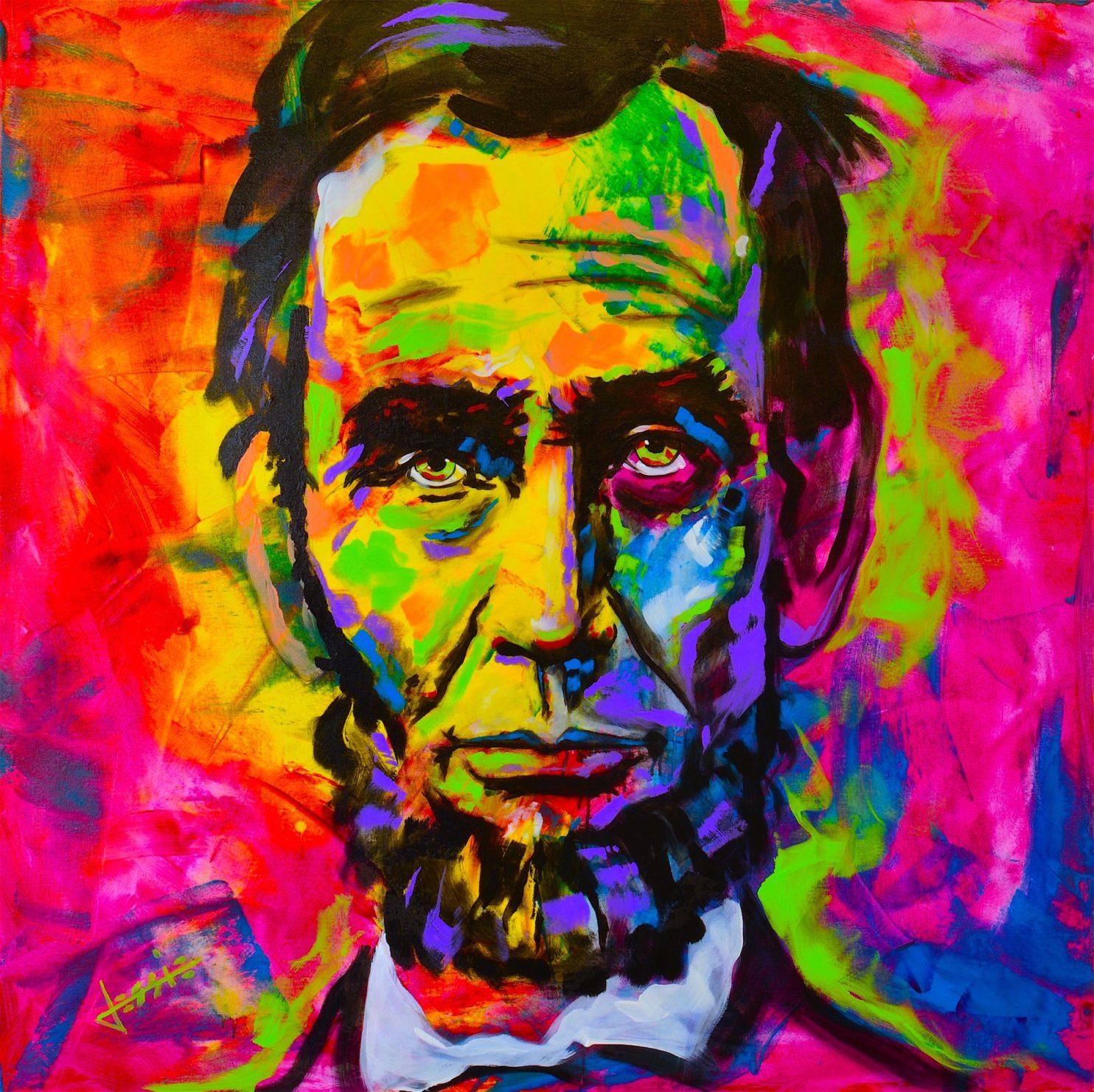 Abraham Lincoln by Jessie Schwartz