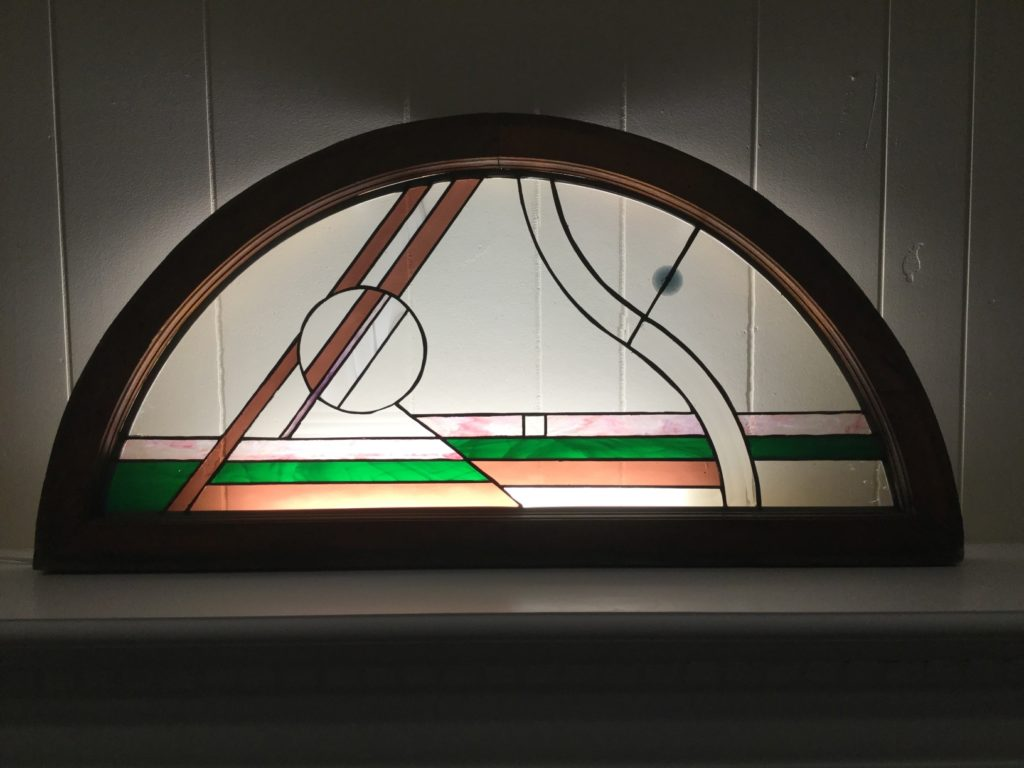 Stained glass artwork by Patrick Madison