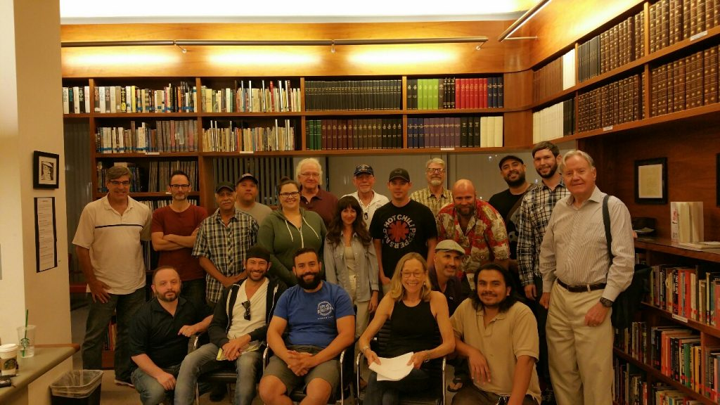 USVAA Veterans Writing Workshop WGF Library Sept. 2018