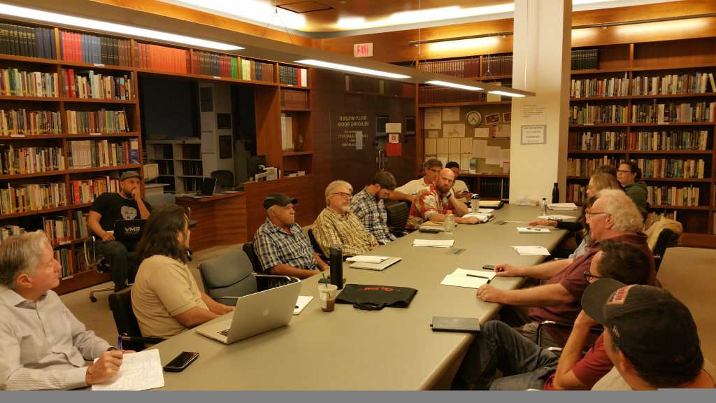 USVAA Veterans Writing Workshop at the Writers Guild Library Sept. 2018