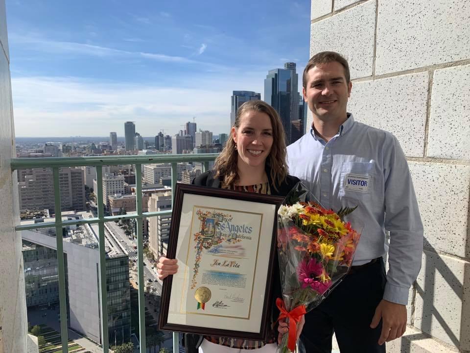 Jen LaVita Veteran of the Year 2018