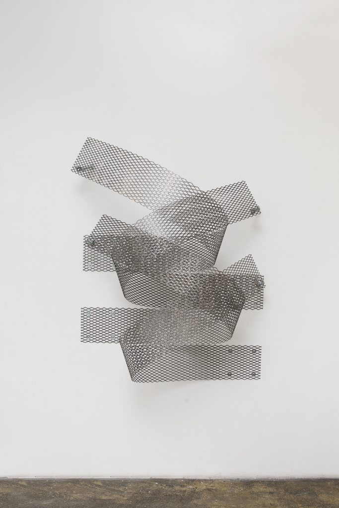 Expanded Steel Relief Number 5 by Ryan Roa