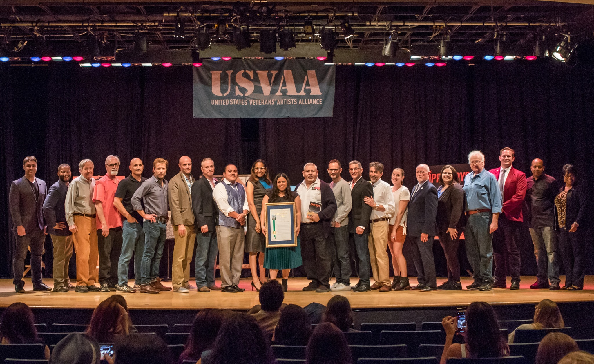USVAA New Works 2019 / Veterans in the Arts and Humanities Day
