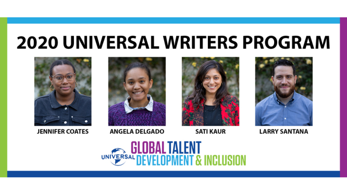 2020 UNIVERSAL WRITERS PROGRAM PARTICIPANTS ANNOUNCED