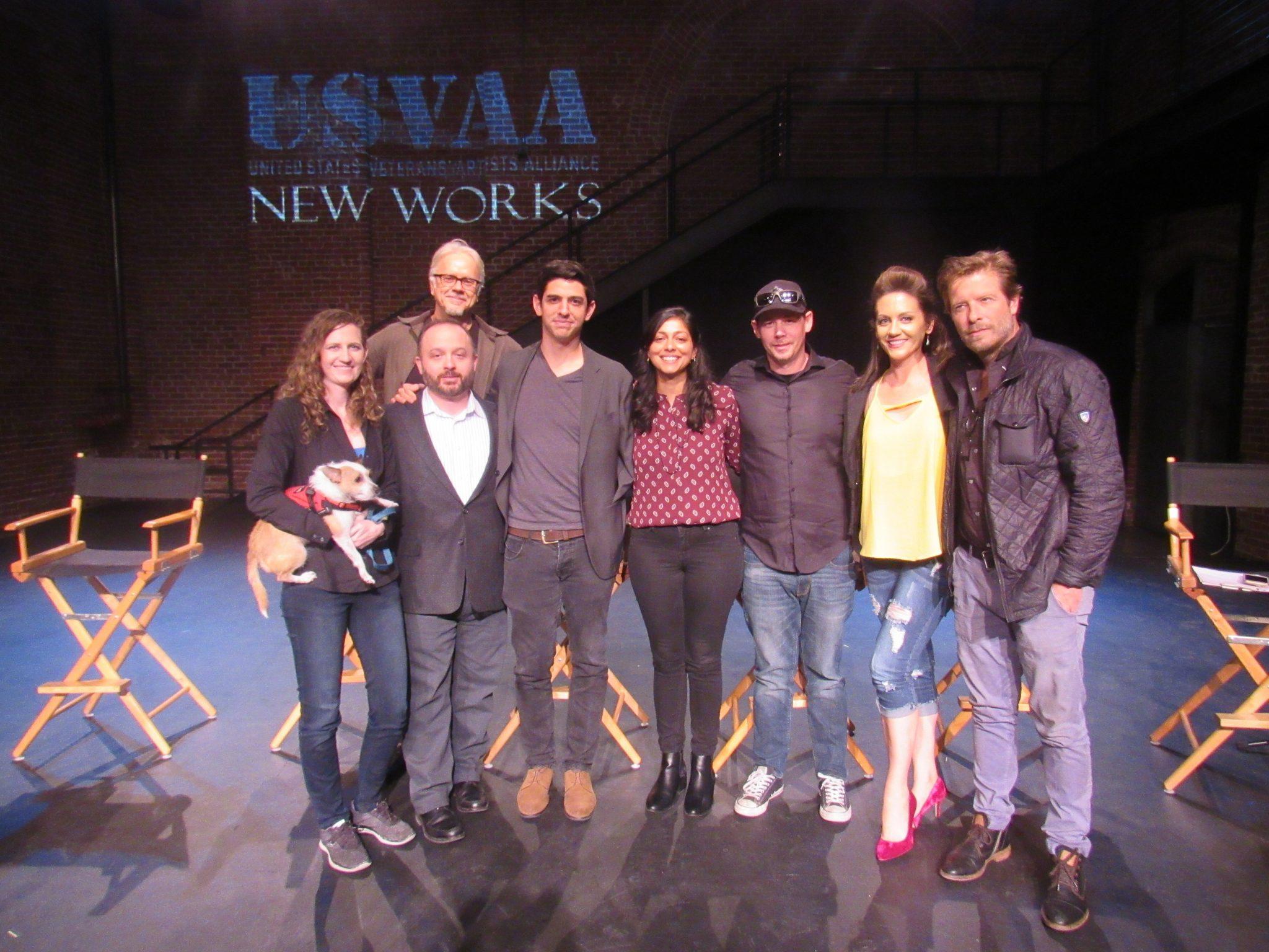 USVAA New Works 2018 with Katie Robinson, Kadyn Michaels, Tim Robbins, Izzy Izagui, Sati Kaur, Rick McGovern, Melissa Ritz and Christopher Sweeney